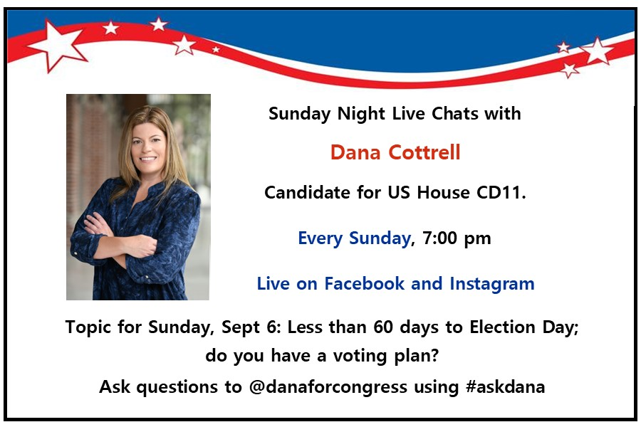 dana cottrell chat sunday night at 7pm
