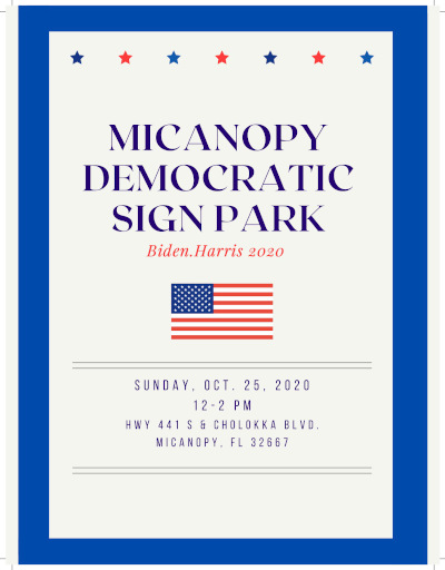 micanopy sign park event flyer